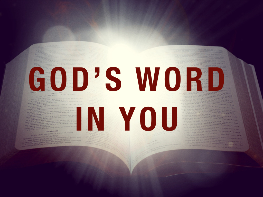 God\'s Word In You