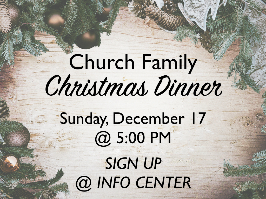 Church Christmas Dinner.Church Family Christmas Dinner Faith Ag