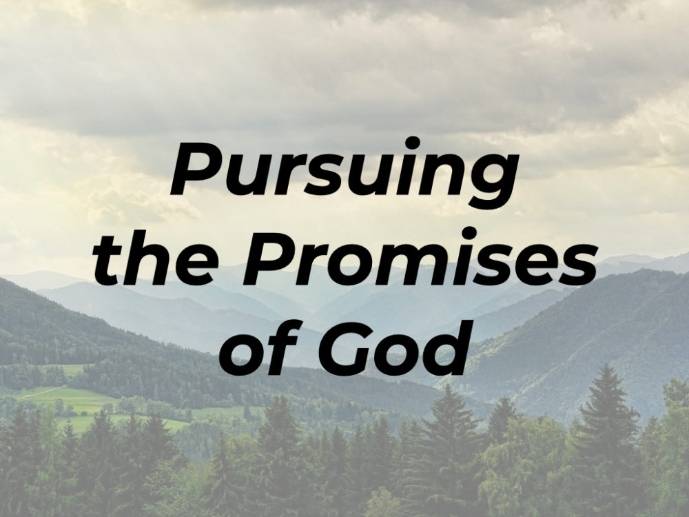 Pursuing the Promises of God